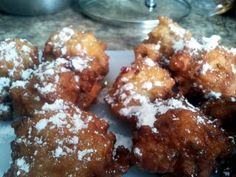 "Apple Fritters! 4.63 stars, 35 reviews. ""and maybe add 1 tbsp of cinnamon"" @allthecooks #recipe #dessert #apple #fritters #easy #breakfast"