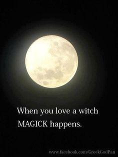 <3 ☆°. When you L❤ve a Witch °☪° Magic Happens .°☆