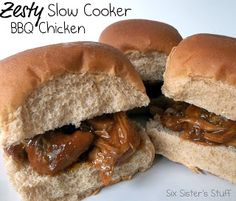 Zesty Slow Cooker Bbq Chicken! So Fast And So Delicious!