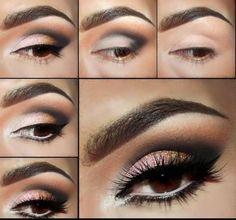 Como maquiar os olhos para casamento a noite meucasamento.org/maquiagem/casamento-a-noite-convidadas/