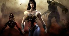 Is Wonder Woman's 'Batman v Superman' Costume Based on the 'Injustice' Video Game? -- Gal Gadot's Amazonian warrior in the 'Man of Steel' sequel is rumored to be inspired by the cover of All New Wonder Woman #600. -- http://www.movieweb.com/news/is-wonder-womans-batman-v-superman-costume-based-on-the-injustice-video-game