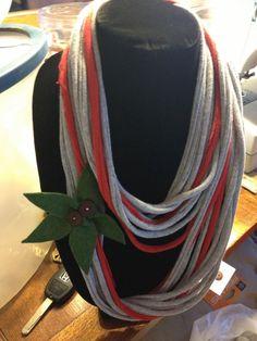 ohio state buckeyes t-shirt scarf