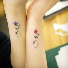 Mother daughter tattoos design ideas 31