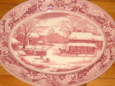Rare Johnson Brothers Home for Thanksgiving by TheVintagehood, $125.00
