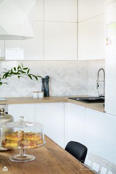 Mieszkanie II w zabudowie wielorodzinnej - Kuchnia, styl skandynawski - zdjęcie od SAŁATA-Pracownia Architektury Wnętrz - homebook