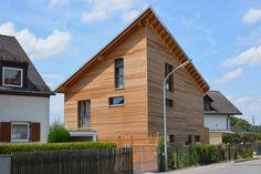 Holzhaus mit Passivhauskomponenten in München • 128 qm Wohnfläche • Baujahr 2012