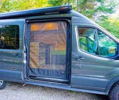 We're 2 engineers that built a campervan from scratch and obsessively documented it. - Imgur Van Conversion Ford Transit, Van Conversion Interior, Camper Van Conversion Diy, Van Interior, Motorhome Interior, Sprinter Van Conversion, Van Camping, Auto Camping, Kombi Motorhome