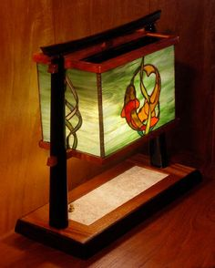 Sonoma County Stained Glass and Exotic Woods by Skip Thomsen