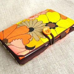 Ooh totally cute pocketbook gift to make #craft #gift