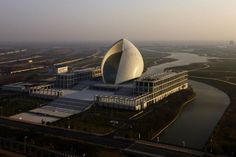 gmp · von Gerkan, Marg and Partners - Hamburg - Arquitectos, Maritime Museum, Lingang new City, China.