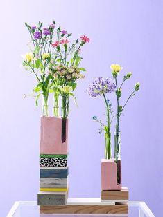 Hol dir den Stiltrend Re-assemble nach Hause Le Tube, Love Illustration, Diy Hacks, Colour Images, Glass Vase, Bloom, Den, Inspiration, Gypsum