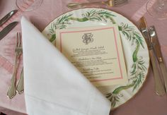 Vintage China  #wedding #china #antique #placesetting #pink