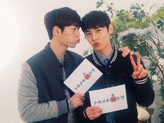 Seo Kang Joon and Yoo Il