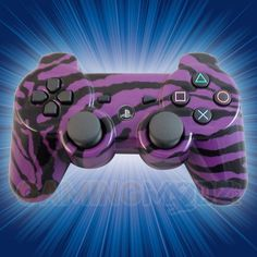 Purple Zebra Playstation 3 Modded Controller  is a perfect gift for a special gamer in your life! All of GamingModz.com PS3 modded controllers are compatible with every major game on the market today. If you decide to get one of our Xbox 360 or Playstation 3 modded controllers, your gaming experience will increase, overall performance will rise and it will allow you to compete against more experienced players. Watch the video now: http://www.youtube.com/watch?v=-qGDwjRMcsA=share