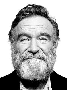 """Robin Williams """"I used to think the worst thing in life was to end up all alone. The worst thing in life is ending up with people who make you feel all alone."""" RIP Robin Williams you will be missed. Photoshop, Famous Faces, Belle Photo, Brigitte Bardot, Comedians, Make Me Smile, Movie Stars, Actors & Actresses, Famous People"""