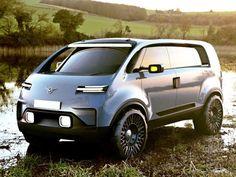 Innovative prototype car ideas of MAMI graduates Cool Vans, Futuristic Cars, Futuristic Vehicles, Weird Cars, Busse, Luxury Suv, Car Sketch, Transportation Design, Future Car