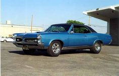 1967 Goat...not mine, but the spittin image.  Dang, I loved that car.