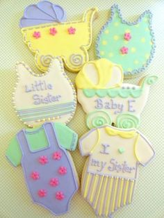 Sugar Cookie Baby Shower Favors ideas