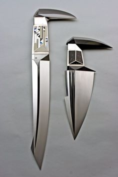 Juergen Steinau Knife Objects