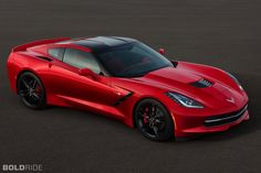 2014 Chevrolet Corvette Stingray - The real thing! Not a concept.