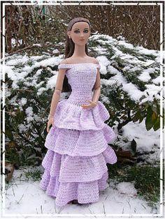 #Barbie #crochet #outfits hanneton 46.4.21 qw
