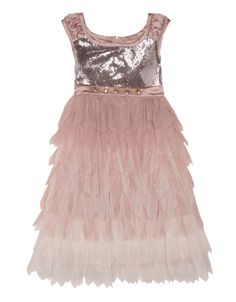 Brands | Dresses | Girls 2-6x Flounced Party Dress | Lord and Taylor