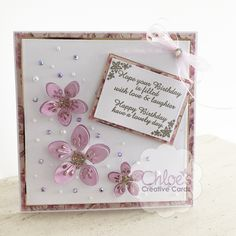 Shop here at Chloes Creative Cards for excellent value Dies by Chloe - Cherry Blossom Flower at just You will also find a selection of other wonderful here too. 70th Birthday Card, Flower Birthday Cards, It's Your Birthday, Chloes Creative Cards, Creative Christmas Cards, Stamps By Chloe, Create And Craft Tv, Cherry Blossom Flowers, Birthday Cards For Women