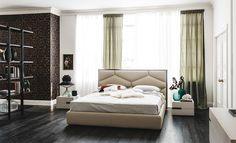 Cattelan Italia Edward bed by Gino Carollo