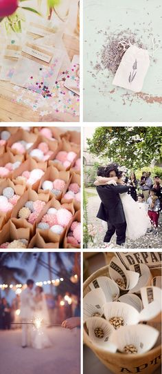 what to toss at a wedding ceremony 1 Awesome Wedding Ceremony Send Offs