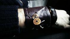 my new leather bracelet!