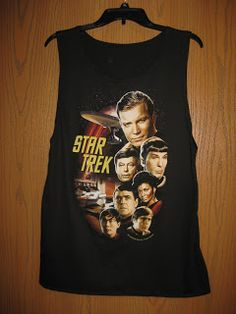Geekphoria: DIY: T-Shirt to Tank Top!
