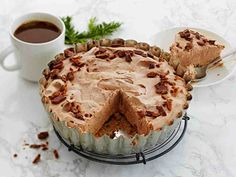 Finnish Recipes, Cheesecakes, Yummy Cakes, Sweet Tooth, Food And Drink, Pie, Ice Cream, Baking, Desserts
