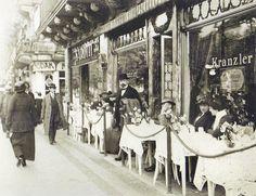 Röhnert, Berlin, Café Kranzler Kurfürstendamm, 1912.