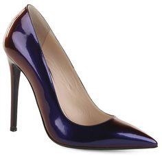 Распродажа Туфли GIANMARCO LORENZI P4D0B8245 ФИОЛЕТОВО-СИНИЙ – купить по акции в интернет-магазине Rendez-Vous, низкие цены на Туфли