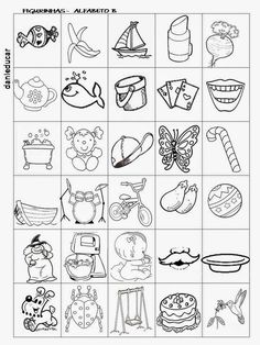 DANI EDUCAR: Figuras letra B Preschool Puzzles, Story Cubes, Drawing Course, English Class, Coloring Pages For Kids, Color Mixing, Vocabulary, Literacy, Embroidery Designs