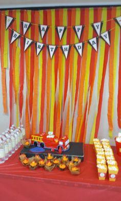 Fire Station party by www.tastycakepop.com