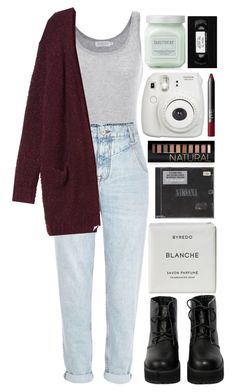 """""""it's a little cold"""" by ellac9914 ❤ liked on Polyvore featuring Velvet by Graham & Spencer, River Island, Monki, The WhitePepper, Laura Mercier, NARS Cosmetics, Byredo and Forever 21"""