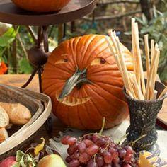 Tök díszítő ötletek - Hogyan díszítik Halloween Pumpkins - Country Living