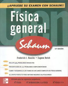 """Bueche. , F. """"Física General"""" 10ª ed. 5 ejemplares"""