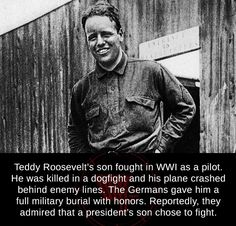History Education, History Teachers, Unbelievable Facts, Amazing Facts, Wtf Fun Facts, Creepy Facts, World War One, Photo Quotes, Roosevelt