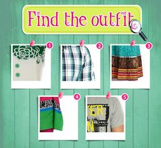 Globus Missing Outfit RT -Here's what you need to find.  Don't forget our website www.globusstores.com