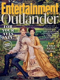 Outlander Season 3 at Entertainment Weekly Cover wallpaper in The Claire & Jamie Fraser Club