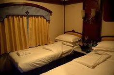 The Golden Chariot Train, one of the most luxurious trains in India