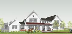New Construction – Afton Historic Farmhouse | Hendel Homes