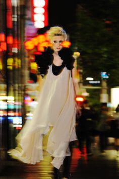 Midnight Cowboy, Night Fashion Editorial.