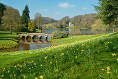 Stourhead Gardens, Wiltshire, UK