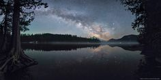 Spring Milky Way at Lost Lake by Ben Coffman - Photo 149701483 - 500px