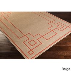 Odette Contemporary Geometric Indoor/Outdoor Area Rug (7'6 x 10'9) | Overstock.com