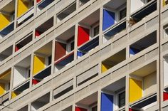 A megical, yet ideological place of the spirit in danger: La Cité Radieuse made by Le Corbousier