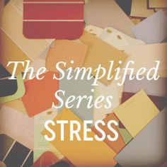 the simplified series Can I Ask, You Dont Want Me, Something To Do, Stress, Reading, Yellow, Simple, Books, Ideas